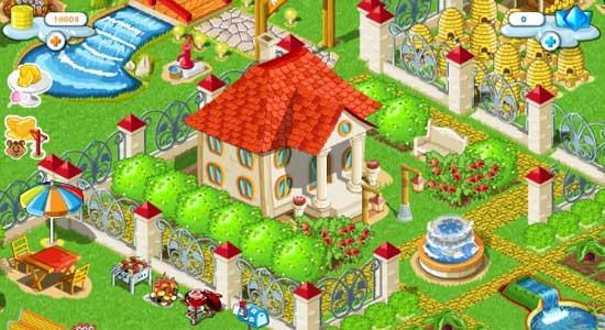 дворик питомца